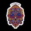 RS00020 – Gandaberunda Purple Resuable Sticker