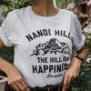 Nandi Hills White Melange T-shirt