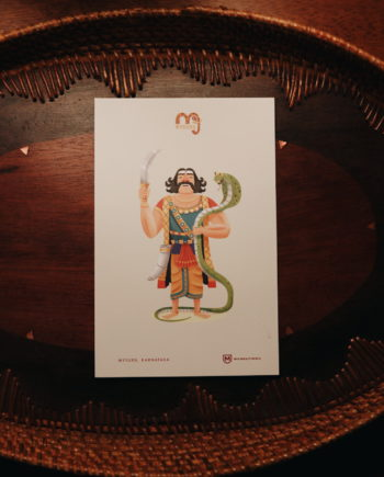 Mahishasura Post Card